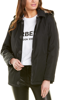 Burberry Vintage Check Detachable Hood Jacket