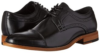 Stacy Adams Dickinson Cap Toe Oxford (Black) Men's Lace Up Cap Toe Shoes