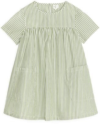 Arket Pima Cotton Poplin Dress