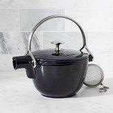 Crate & Barrel Staub ® Dark Blue Tea Kettle