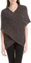 Max Studio Wrap Cocoon Sweater
