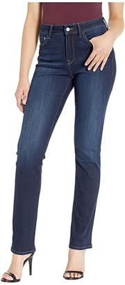 Mavi Jeans Kendra High-Rise Straight Leg in Deep Supersoft (Deep Supersoft) Women's Jeans
