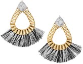 BaubleBar Ashira Fringe Hoop Earrings