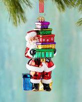 Christopher Radko Santa Shopper Christmas Ornament