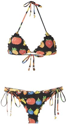 AMIR SLAMA Two-Piece Bikini Set