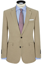 John Lewis Silk And Linen Suit Jacket, Stone