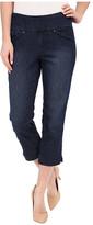 Jag Jeans Marion Crop Comfort Denim in Blue Shadow