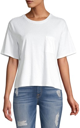 Joie Conie One-Pocket Cropped Tee