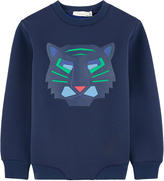 Stella McCartney Graphic neoprene sweatshirt
