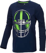 adidas Helmet-Print T-Shirt, Toddler Boys (2T-5T)