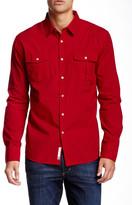 Micros Blind Textured Woven Long Sleeve Regular Fit Shirt