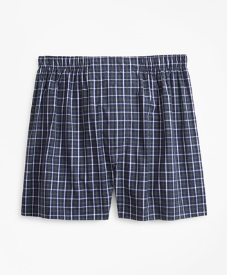 Brooks Brothers Traditional Fit Multi-Check Boxers