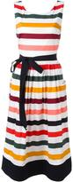 Carolina Herrera striped day dress