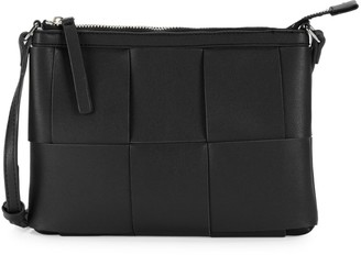 French Connection Tamar Patchwork Faux Leather Crossbody Bag