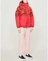 BAPE Camouflage-print padded shell jacket