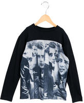 Dolce & Gabbana Boys' Graphic Print Long Sleeve Shirt w/ Tags