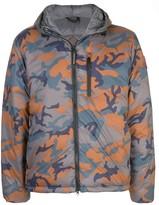 Canada Goose camouflage padded jacket