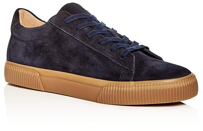 Vince Men's Kurtis Weatherproof Suede Lace Up Sneakers