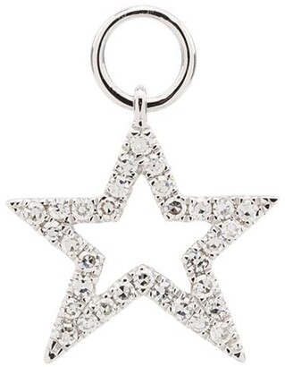 Roxanne First 14kt White Gold Star Charm