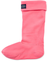 Joules Neon Coral Welly Socks - Women