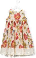 Pero Kids - floral print dress - kids - Silk/Cotton - 4 yrs