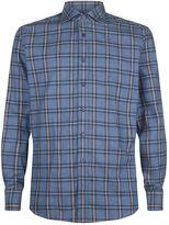 Hackett Check Print Long Sleeve Shirt