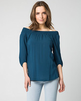 Le Château Challis Off-the-Shoulder Top