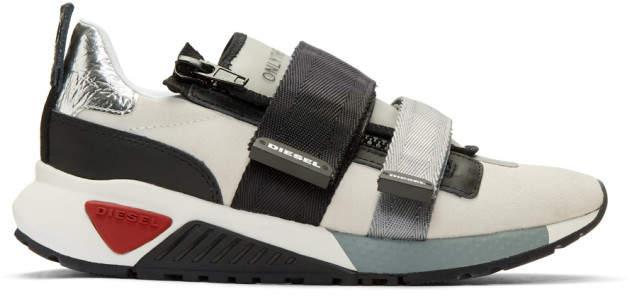 Diesel Off-White S-KB Strap Sneakers