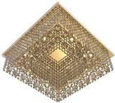 Camilla And Marc TITANIALUX UK CZ344/8GO Crystal Polished Brass G9 Chandelier, 40 W, 40 x 40 x 12 cm