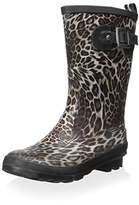 GIOSEPPO Women's Short Rain Boot,36 M EU/6 M US