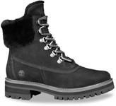 Timberland Courmayeur Valley Waterproof Shearling-Lined Leather Hiking Boots