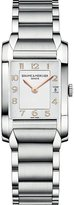 Baume & Mercier Women's MOA10049 Quartz Stainless Steel Silver Dial Watch