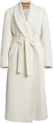 Giuliva Heritage Collection The Linda Wool-Blend Belted Robe Coat