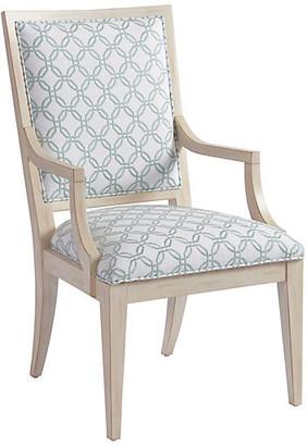 Barclay Butera Eastbluff Armchair - White/Sage