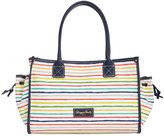 Dooney & Bourke Multi Watercolor Stripe Tote, Created for Macy's