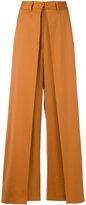 MM6 MAISON MARGIELA double-layer trousers