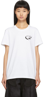 Off-White White Marker Casual T-Shirt