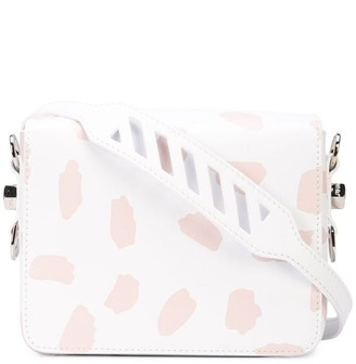 Off-White x The Webster abstract print shoulder bag
