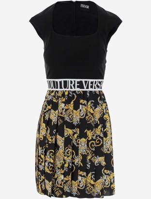 Versace Jeans Baroque Print Women's Dress