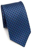 Saks Fifth Avenue COLLECTION Double Face Geometric Silk Tie