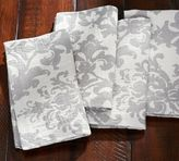 Pottery Barn Jacquard Medallion Napkin, Set of 4