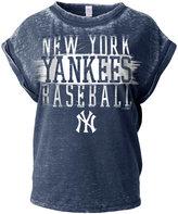 5th & Ocean Women's New York Yankees Burnout Wash T-Shirt