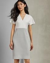 Ted Baker REEMADD Mockable midi length dress