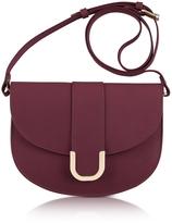 A.P.C. Soho Lie De Vin Leather Crossbody Bag