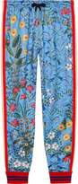 Gucci New Flora technical jersey trousers