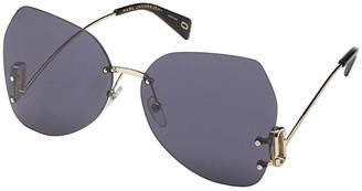 Marc Jacobs Marc 373/S (Black/Grey/Blue) Fashion Sunglasses