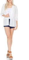Everly White Kimono