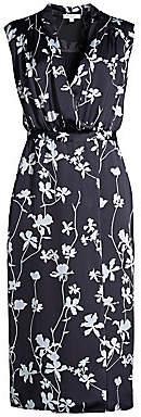 Equipment Women's Femma Sleeveless Floral Sheath Dress