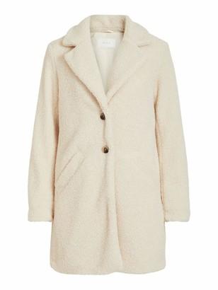Vila Women's VILIOSI Teddy Coat/SU-NOOS