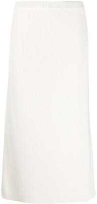 Alessandra Rich Fine Knit Midi Skirt